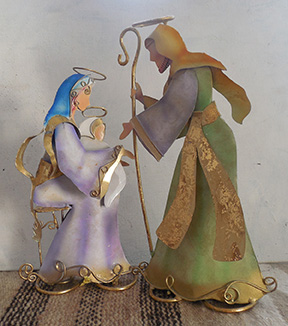 But Tin Nativity